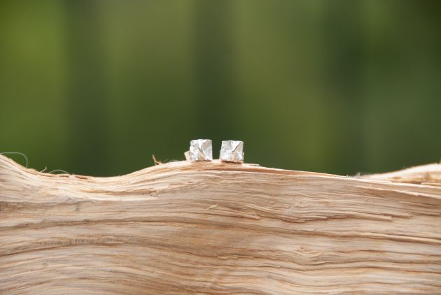 Ivy Ear Studs-Small-Bright
