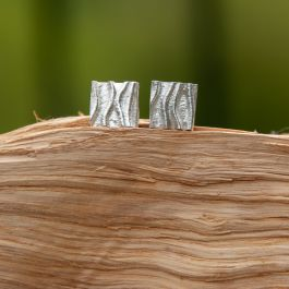 Ivy Ear Studs-Large-Bright